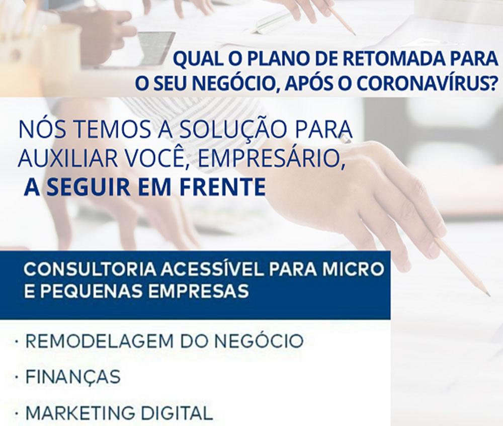 ACIA em parceria com o SEBRAE lançam Plano de Retomada dos Negócios para MEIs, ME e EPP