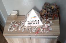 Polícia Militar apreende drogas em Araxá/MG