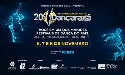 DANÇARAXÁ 2020 começa nesta sexta-feira em formato inédito