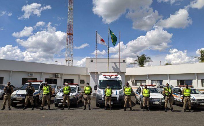 """Polícia Militar realiza Operação """"Regiões Integradas"""" nos municípios de abrangência do 37ºBPM"""