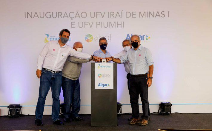 Governador Romeu Zema participa da inauguração de usinas fotovoltaicas, no Triângulo Mineiro