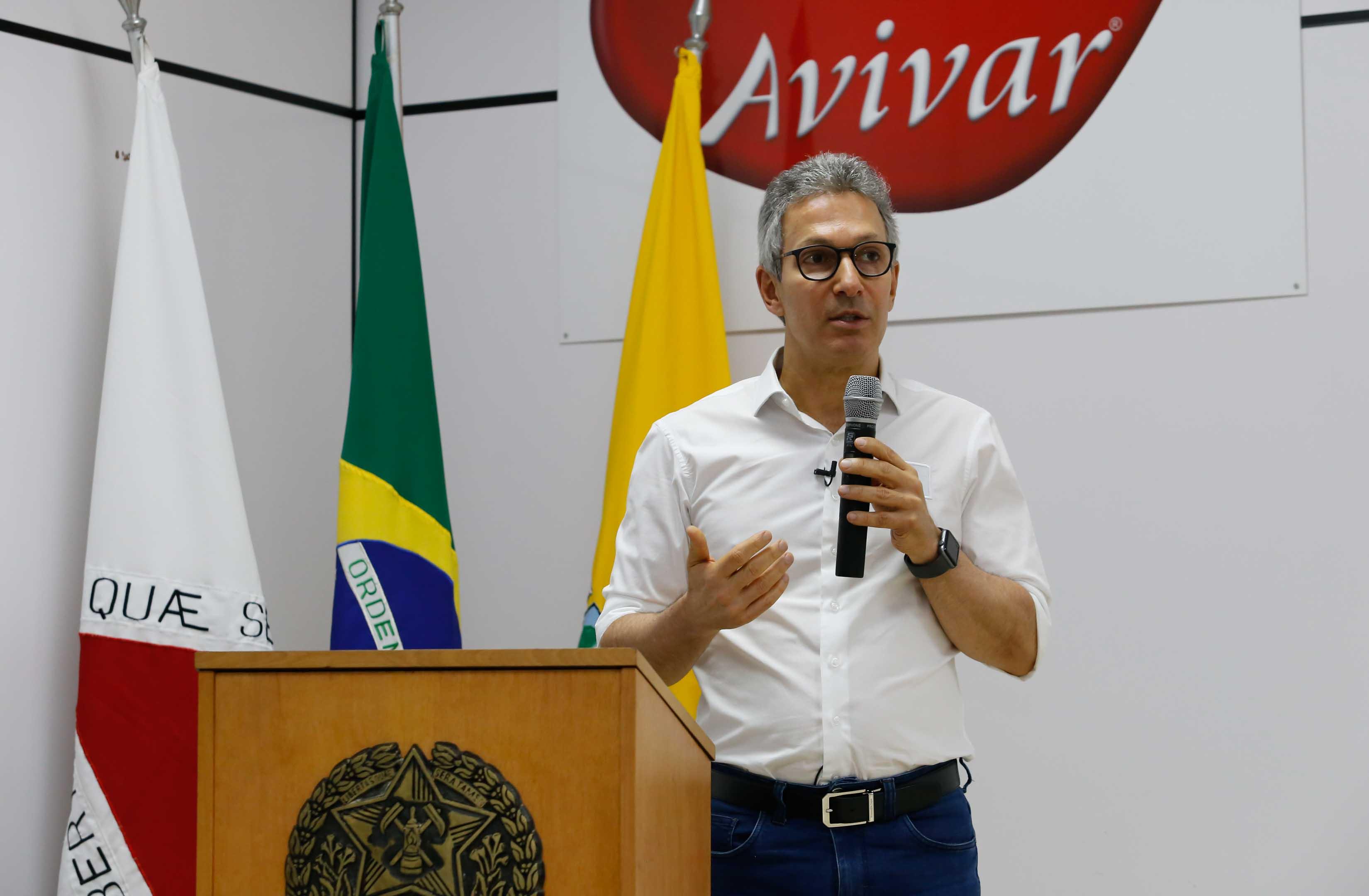 Governador Romeu Zema participa da inauguração do Centro de Armazenagem de Grãos da Avivar