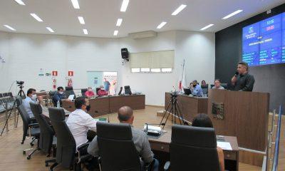 Reunião Ordinária realizada nesta terça-feira (17/11)