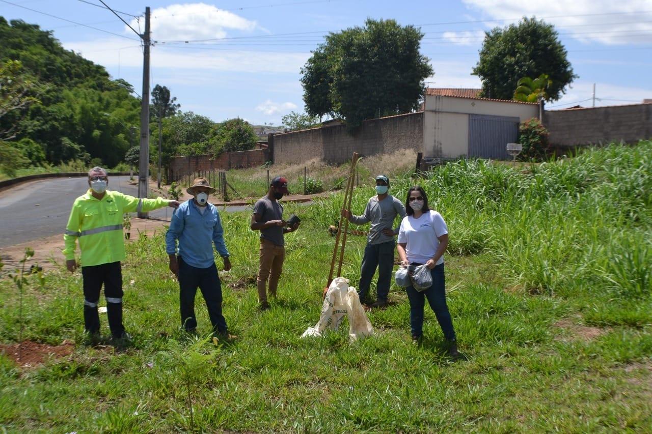 Satis participa de programa voltado à recuperação de nascentes na região de Araxá