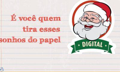 Como adotar cartinhas do Papai Noel dos Correios Digital