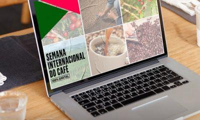 Semana Internacional do Café tem programação 100% digital