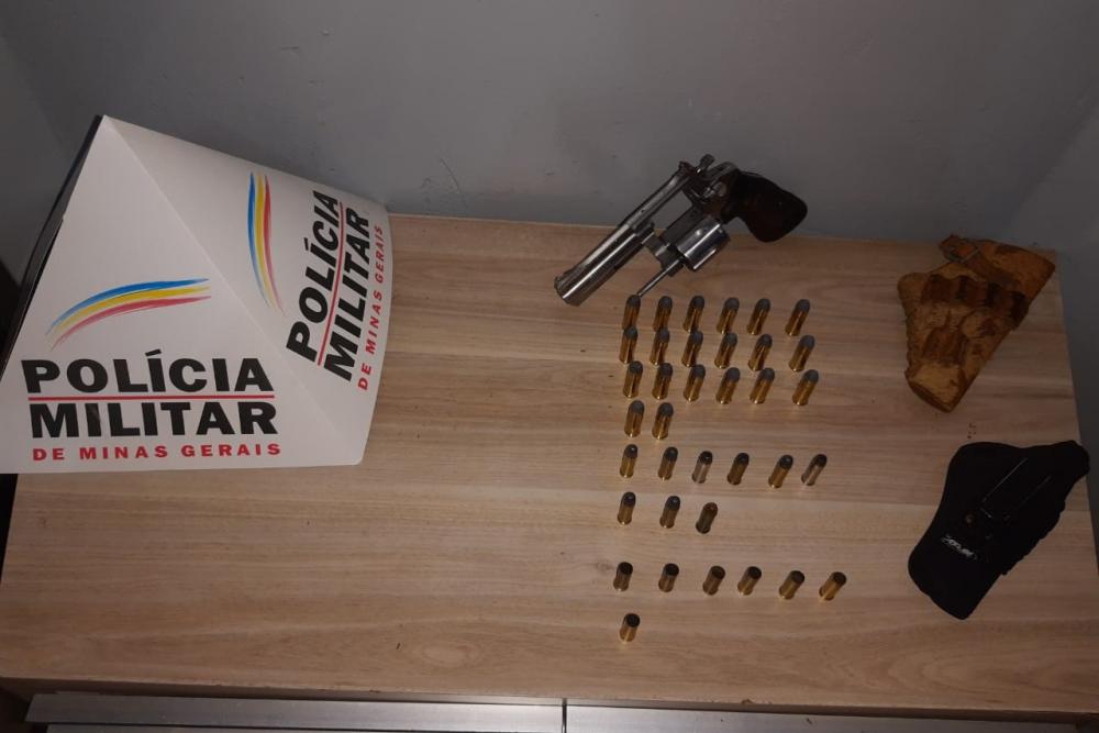Homem é preso por ameaça, porte ilegal de arma e por dirigir embriagado em Araxá
