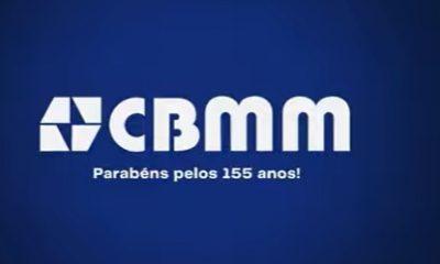 Homenagem da CBMM aos 155 anos de Araxá