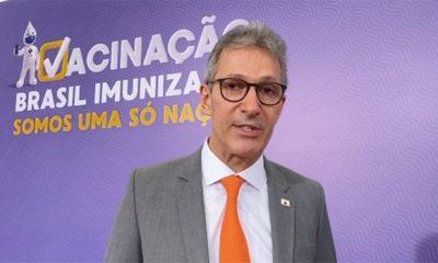 Romeu Zema participa do lançamento do Plano Nacional de Vacinação contra a Covid-19