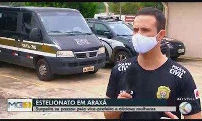 Suspeito de se passar pelo vice-prefeito de Araxá para aplicar golpes é detido pela Polícia