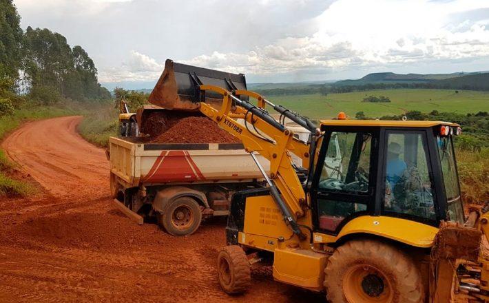 Secretaria de Agricultura e Pecuária inicia melhorias nas estradas rurais de Araxá