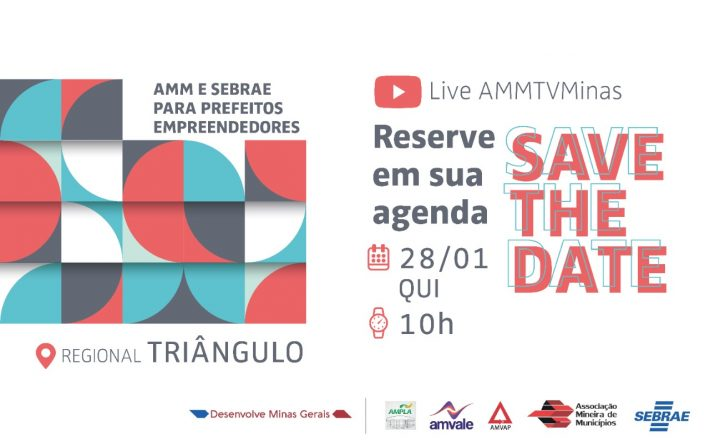 AMM e Sebrae Minas promovem webinários com Novos Prefeitos Empreendedores; primeiro evento acontece no dia 28 na região Triângulo