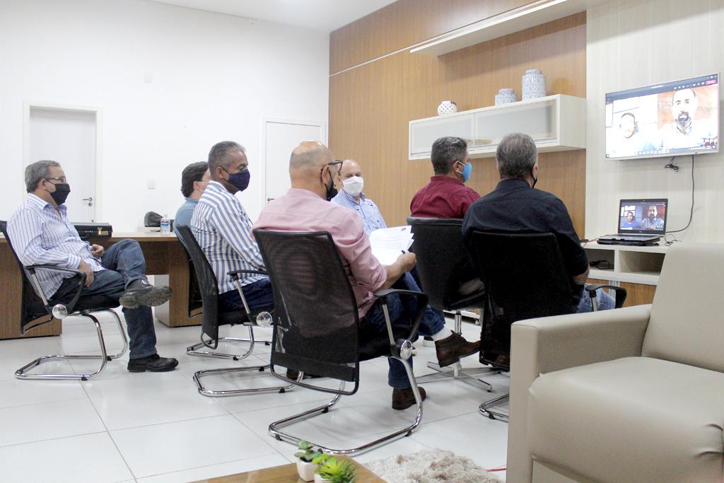 Prefeitura e McCain tratam sobre etapas da construção da fábrica de batatas pré-fritas em Araxá