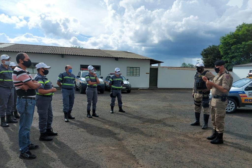 Asttran recebe capacitação em parceria com o 37º Batalhão de Polícia Militar