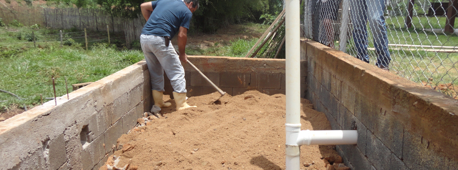 Projeto do Governo incentiva tratamento ecológico de esgoto doméstico na região Central
