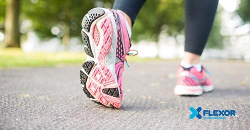 Caminhar ajuda a ter uma vida saudável