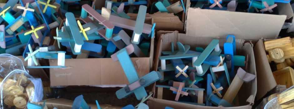 Depen-MG doa mais de 800 brinquedos ao Servas
