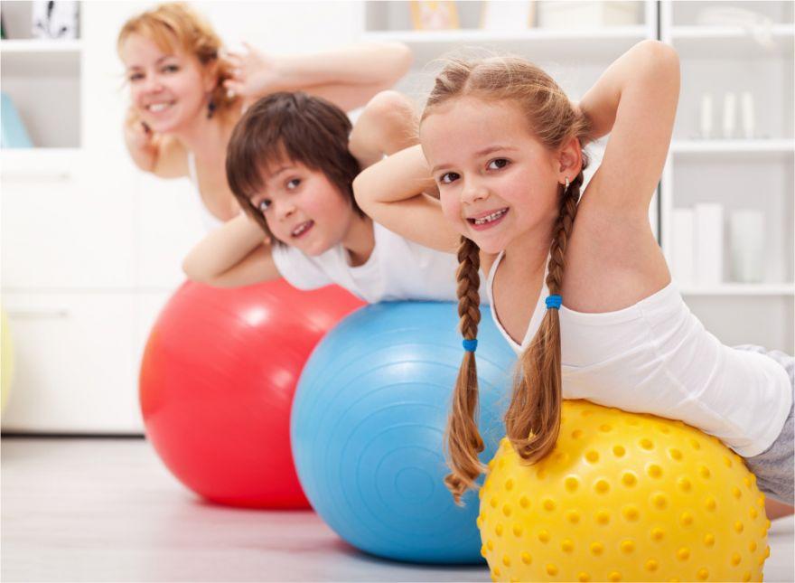 Os benefícios do Pilates Kids