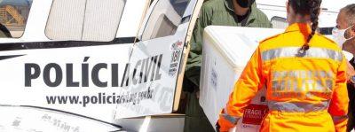Governo de Minas distribui mais de 280 mil doses de vacinas contra covid-19