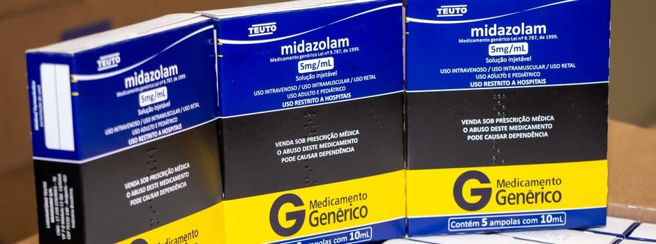 Mais de 133 mil unidades de medicamentos para kit intubação chegam a Minas Gerais