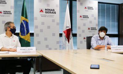 Romeu Zema determina início das obras de recuperação do Aeroporto de Ipatinga, no Vale do Aço
