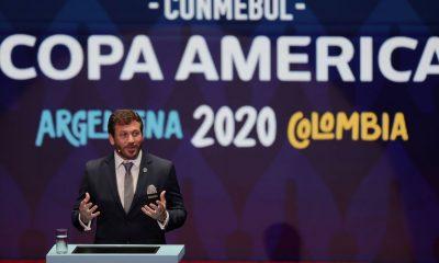 Conmebol pede que Argentina sedie a Copa América sozinha