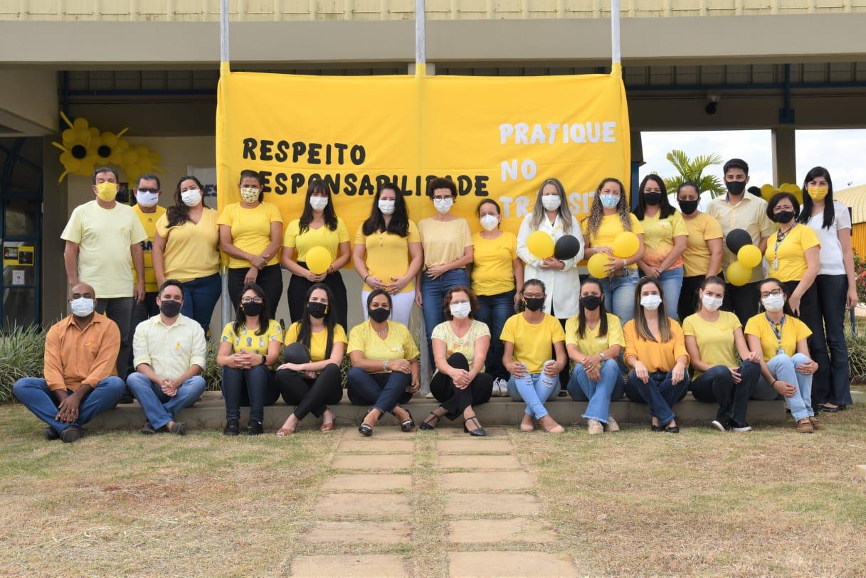 SEST SENAT promove campanha do Maio Amarelo