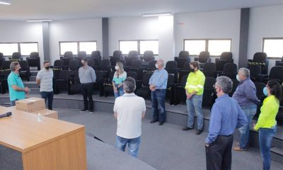 """Araxá recebe mais 15 capacetes """"Elmo"""" para tratamento da Covid-19"""