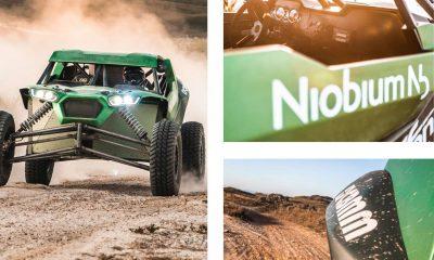 CBMM eGiaffone Racing lançam a EXO Nb, primeira linha de UTVs com a tecnologia do Nióbio