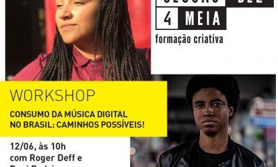 Caminhos para o consumo da música digital no Brasil é tema de workshop do Sesc Palladium