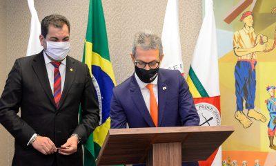 Zema assina acordo com o TJMG para devolução à população dos recursos retirados dos depósitos judiciais