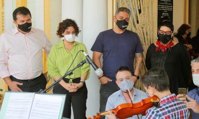 Fundação Cultural Calmon Barreto recebe visita de secretário de Estado de Cultura e Turismo