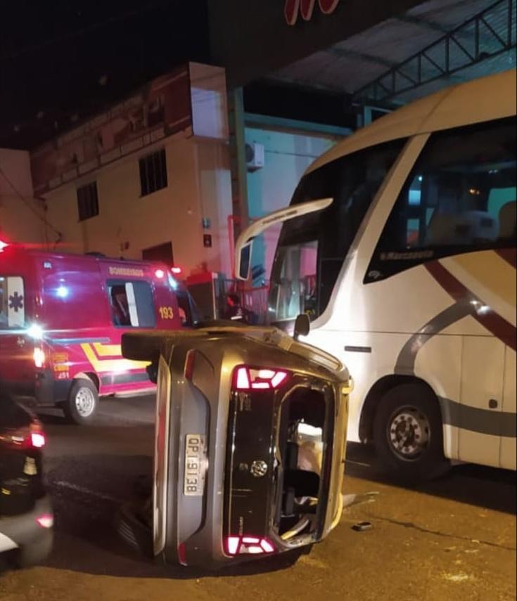 Polícia Militar registra acidente de trânsito sem vítima em Araxá