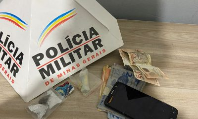 POLÍCIA MILITAR PRENDE AUTORES POR TRÁFICO DE DROGAS EM ARAXÁ/MG