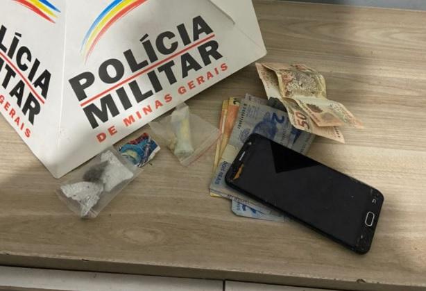 Polícia Militar prende autores por tráfico de drogas em Araxá