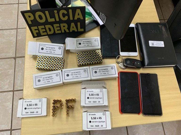 Polícia Federal combate o tráfico internacional de drogas e de armas na fronteira entre Brasil e Paraguai