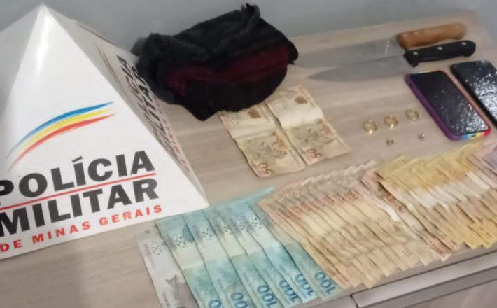POLÍCIA MILITAR PRENDE AUTORES DE EXTORSÃO E RECUPERA VEÍCULO EM ARAXÁ/MG