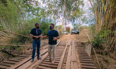 Prefeituras de Araxá e Perdizes fecham parceria para recuperação da Ponte Queimada