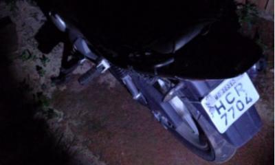 Polícia Militar apreende adolescente e recupera motocicleta furtada em Araxá
