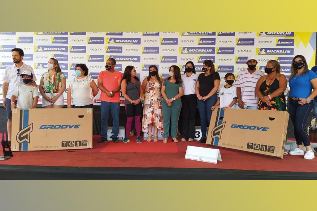 Concursos de redação e desenho premiam alunos da rede municipal durante a Copa Internacional de Mountain Bike